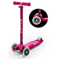 MAXI MICRO SCOOTER DELUXE PINK LED