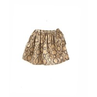 Longlivethequeen wide snake skirt