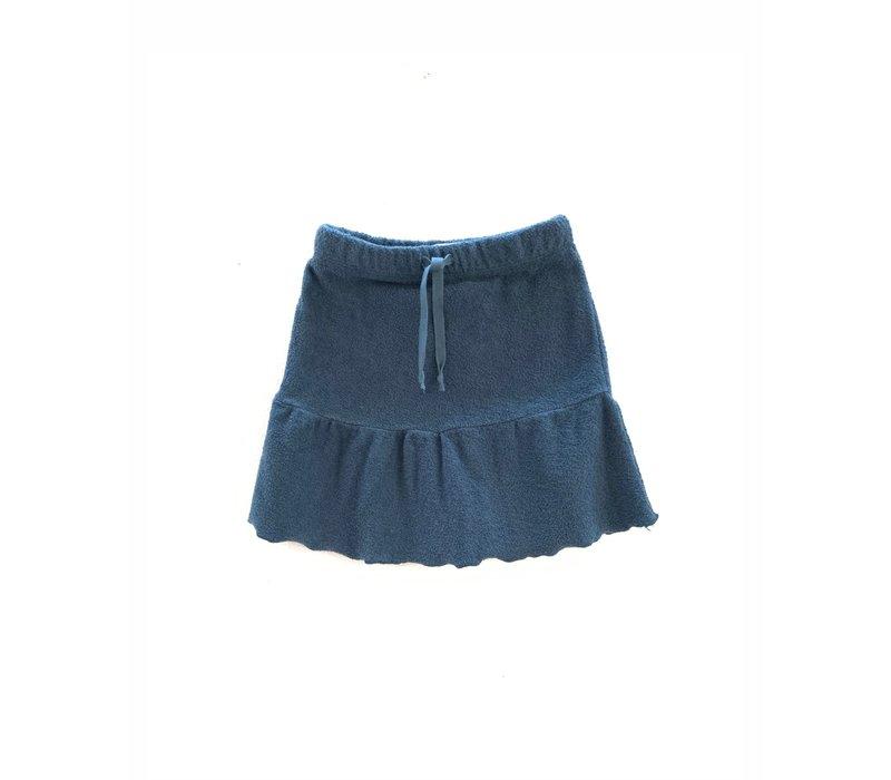 Longlivethequeen terry skirt blue