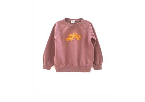 Long Live the Queen longlivethequeen raglan sweater purple