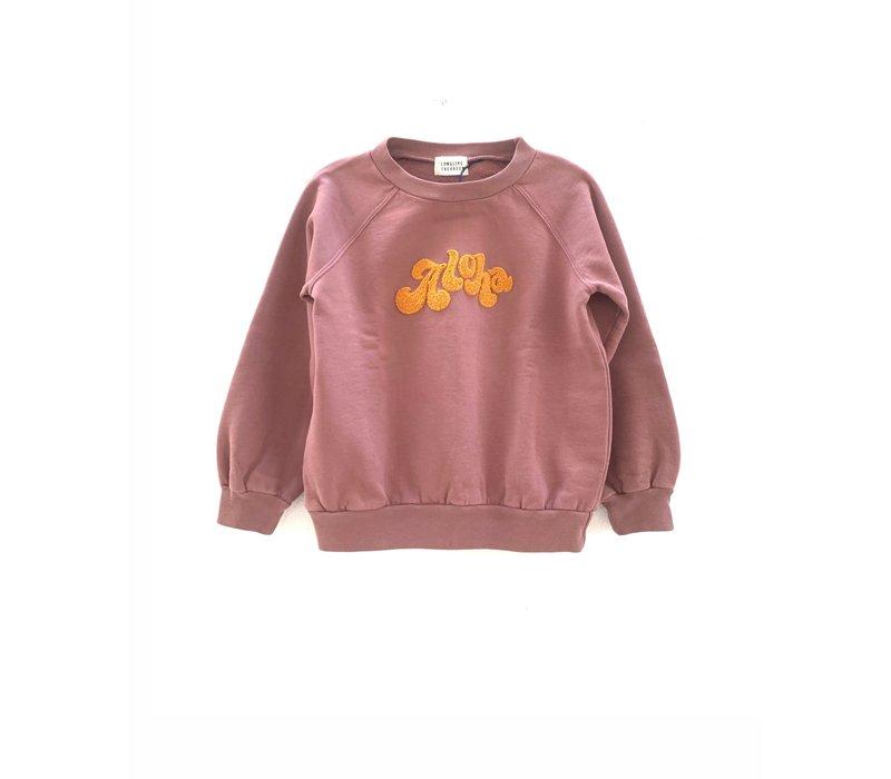 longlivethequeen raglan sweater purple