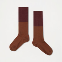 Repose AMS 41. Socks rosewood red with hazel