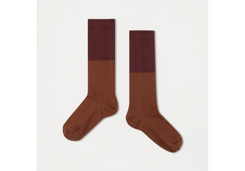 Repose AMS Repose AMS 41. Socks rosewood red with hazel