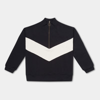 Repose AMS 24. Track Sweater thunder black