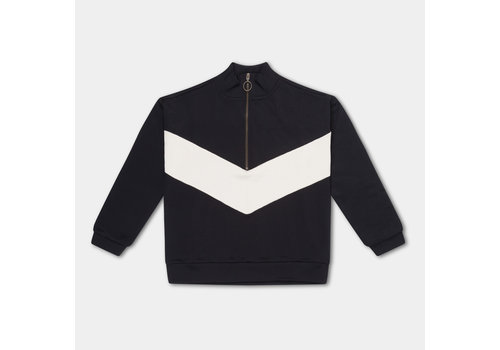Repose AMS Repose AMS 24. Track Sweater thunder black