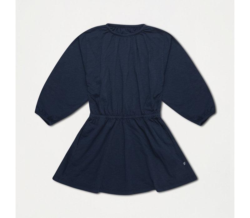 Repose AMS 29. Skater dress midnight blue
