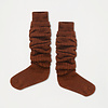 Repose AMS Repose AMS 43. Woolly high socks hazel brown
