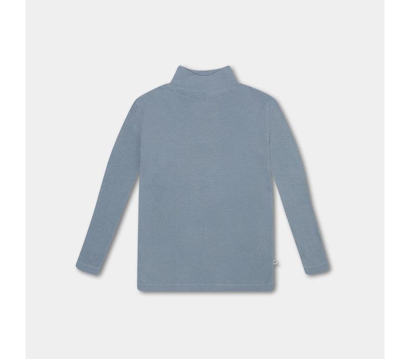 Repose AMS 18. turtle neck steel blue