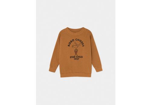 Bobo Choses Bobo Choses The Moose sweater Curry