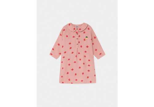 Bobo Choses Bobo Choses All Over Small Buttons Dress