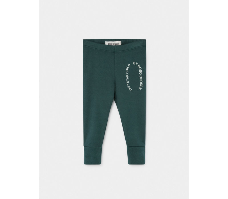 Bobo Choses Legging Starchild Patch Sea moss