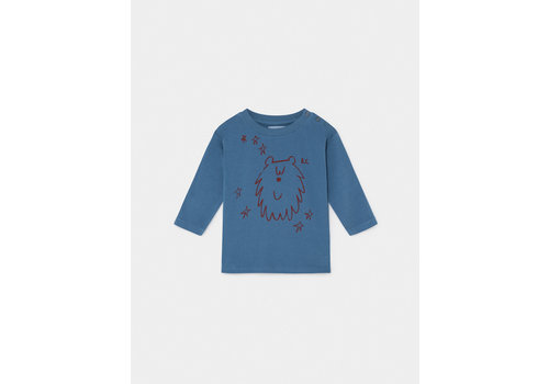 Bobo Choses Bobo Choses Longsleeve Ursa Major Infinity blue