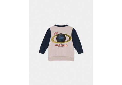 Bobo Choses Bobo Choses Zipped Sweater Archigram Saturn
