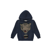 Soft Gallery Hoodie Bowie Blueberry Tiger burger