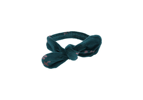Soft Gallery Soft Gallery Bow Hairband deep teal winterberry