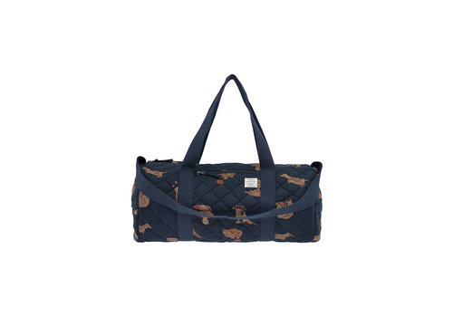Soft Gallery Soft Gallery Big Quilted Bag Blueberry AOP Wildwood