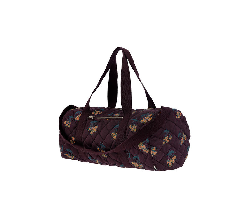 Copy of Soft Gallery Big Quilted Bag Blueberry AOP Wildwood