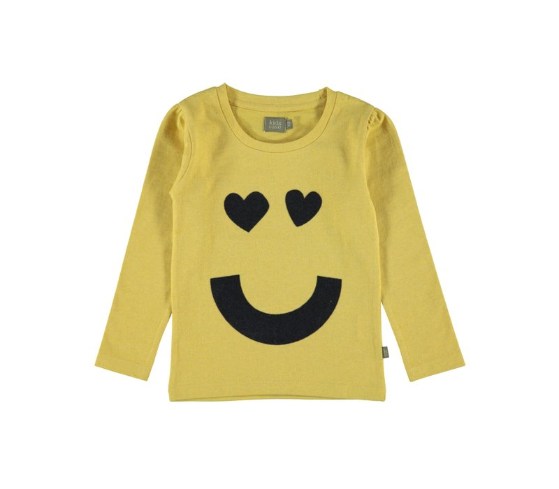 Kidscase Sam girls print t-shirt yellow