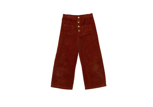 The Campamento The Campamento Pants TCAW29 Brown rib