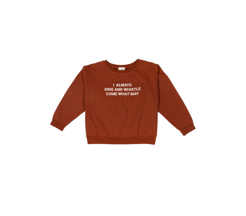 The Campamento Sweater TCAW13 Red