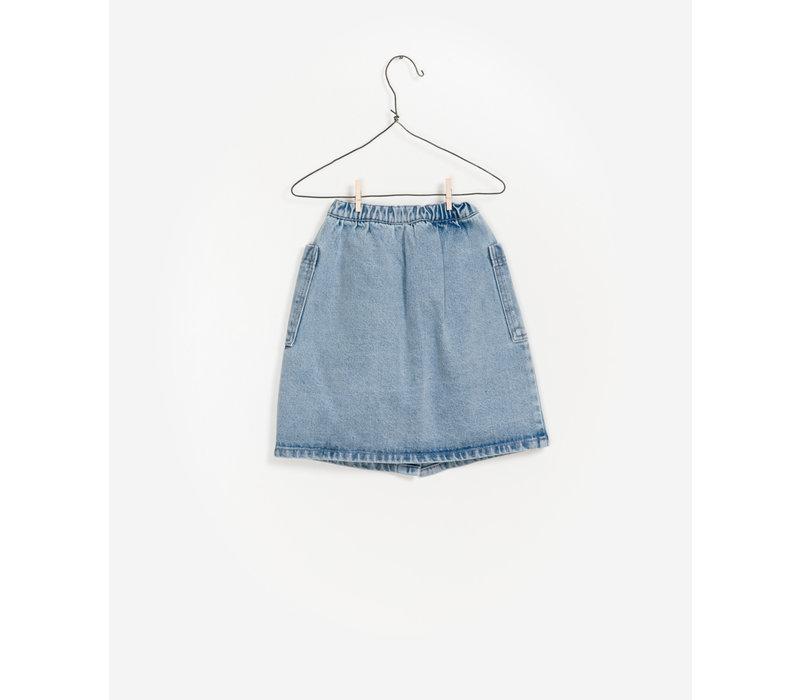 Play Up Denim Skirt Kids
