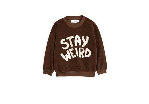 Mini Rodini Mini Rodini Terry Sweater Stay Weird