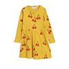 Mini Rodini Mini Rodini Dress Cherry Yellow