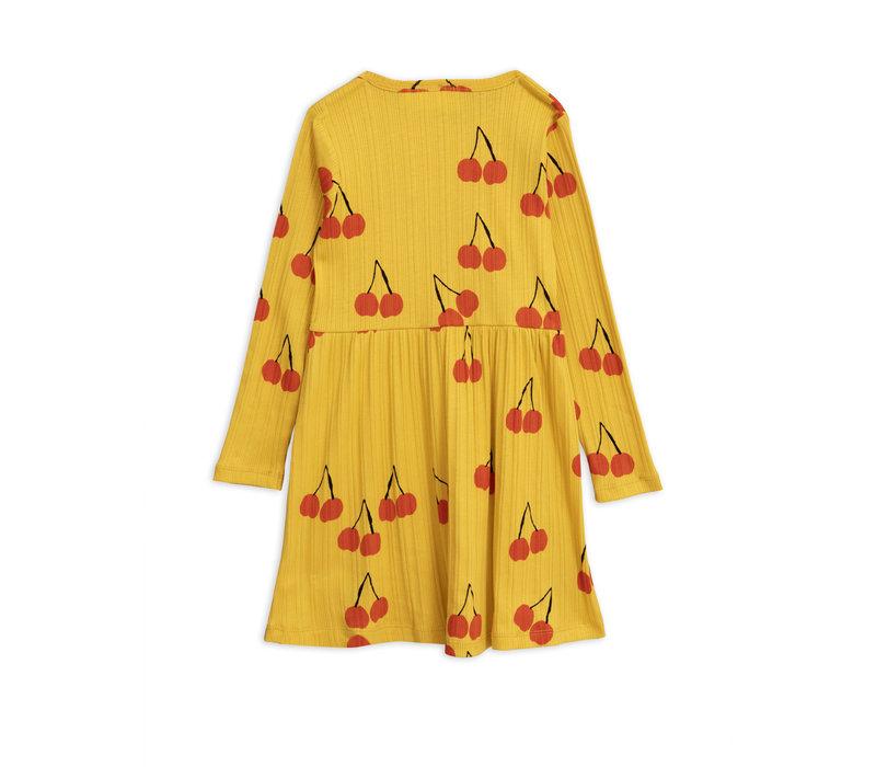 Mini Rodini Dress Cherry Yellow