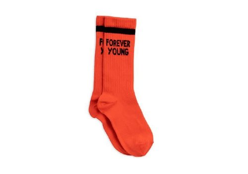 Mini Rodini Mini Rodini Sock Forever young red