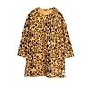Mini Rodini Mini Rodini Dress Leopard Longsleeve