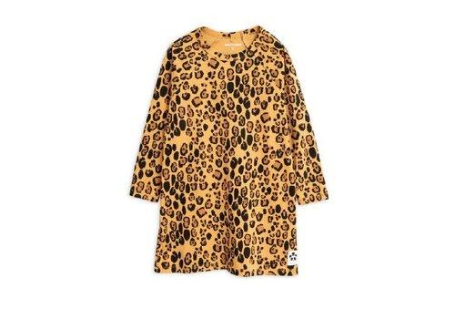 Mini Rodini Mini Rodini Dress Leopard Longsleeve