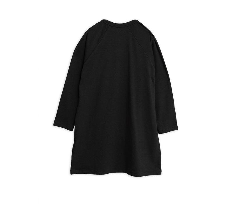 Mini Rodini Dress Basic Longsleeve Black