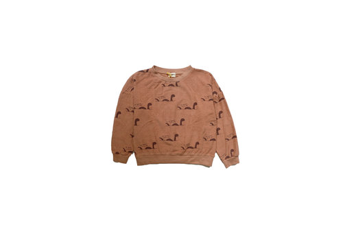 The Campamento The Campamento Sweater TCAW18 AOP Rust