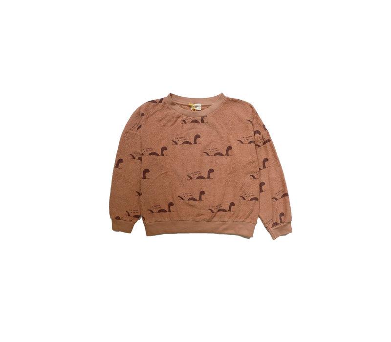The Campamento Sweater TCAW18 AOP Rust
