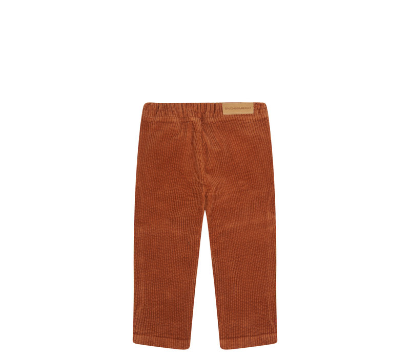 Mingo Tapared Trouser Leather Brown