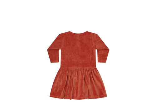 Mingo Mingo Dress Red Wood