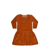 Mingo Dress Leather Brown