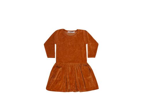 Mingo Mingo Dress Leather Brown