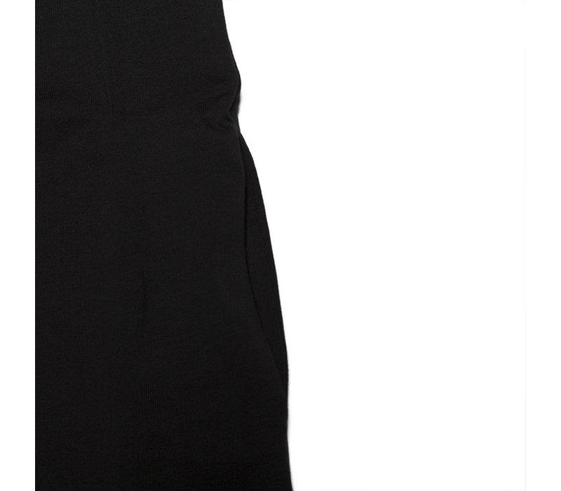 Mingo t-shirt dress black