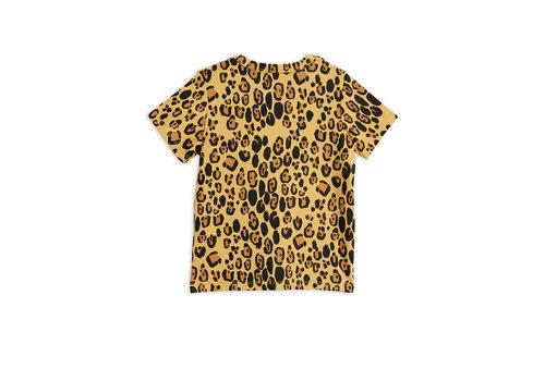Mini Rodini Mini Rodini Basic Leopard ss Tee Tencel