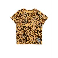 Mini Rodini Basic Leopard ss Tee Tencel