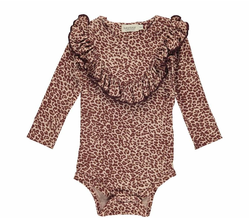 MarMar Copenhagen Leopard Billie Body Wine
