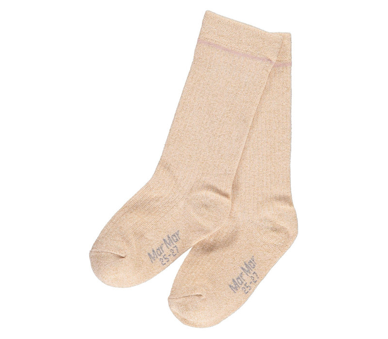 MarMar Copenhagen Knee Socks Gold