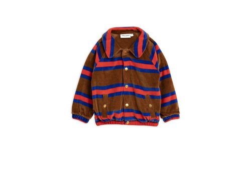 Mini Rodini Mini Rodini Velour Stripe Jacket