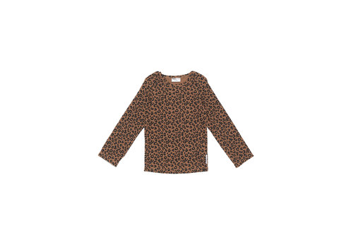 Maed for mini Maed for mini Chocolate Leopard Longsleeve