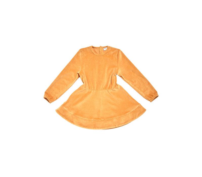 Maed for mini Golden Grasshopper Dress