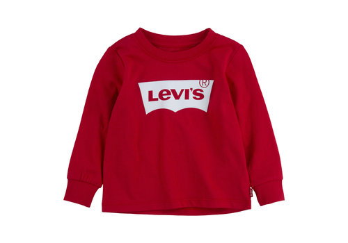 Levis Levis L/S Batwing Tee Super Red baby