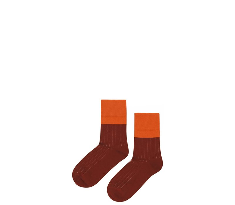 Mingo socks Bitter Chocolate - Cinamon