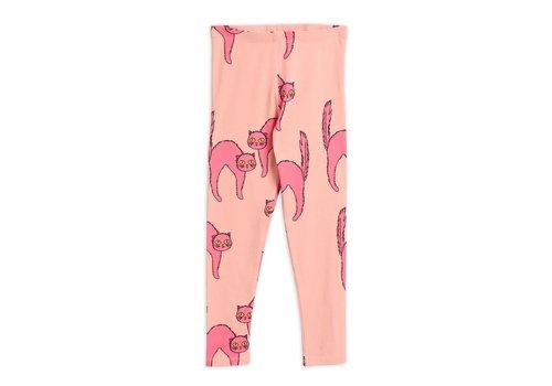 Mini Rodini Mini Rodini Catz Leggings pink
