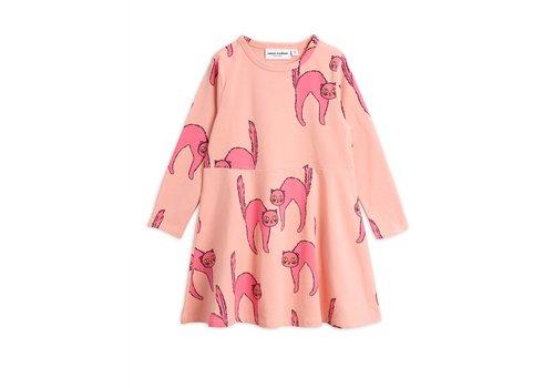 Mini Rodini Mini Rodini Catz dress Pink